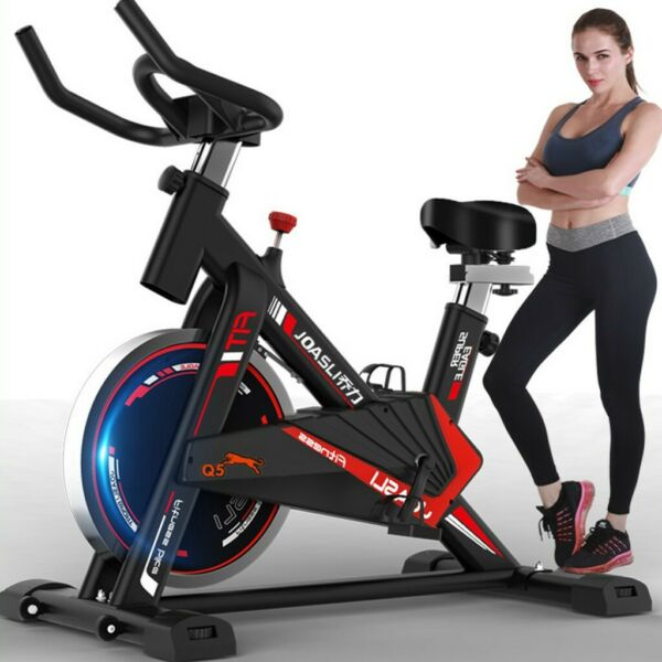 Indoor Cycling Bike Exercise Bicycle Stationary Bikes Fitness Workout Gym $248.03