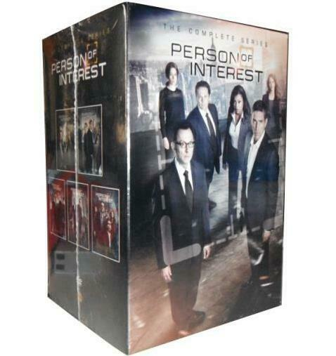 PERSON OF INTEREST: THE COMPLETE SERIES 1 5 BOX SET BRAND NEW SEALED