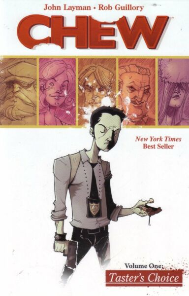 Chew by John Layman Volume Volume 1 Taster's Choice Softcover Graphic Novel $9.96