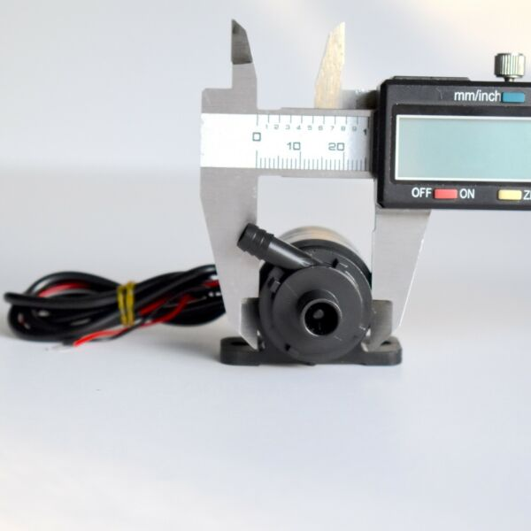 Brushless 12V Small Water Pump 6 15V DC IP68 Submersible 50000 hours ABS $11.99