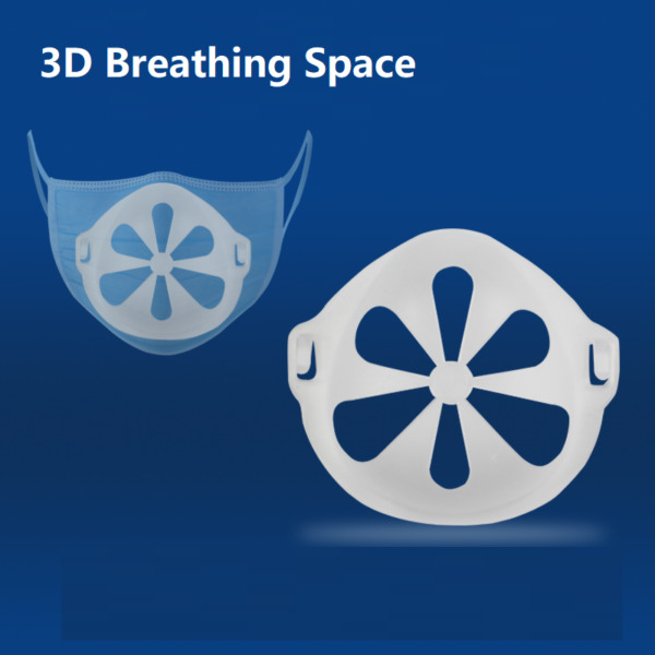 10pcs 3D Face Masks Bracket Mouth Separate Inner Stand Holder Breathing Space US