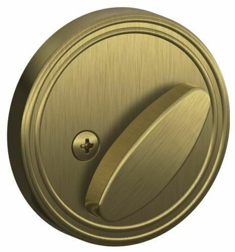 Schlage JD81 One Sided Deadbolt