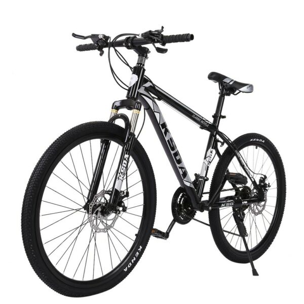 Mountain Bike For Men#x27;s Bicycle 24 Inch Turquoise Adjustable Seat 21 Speeds Ride $178.89