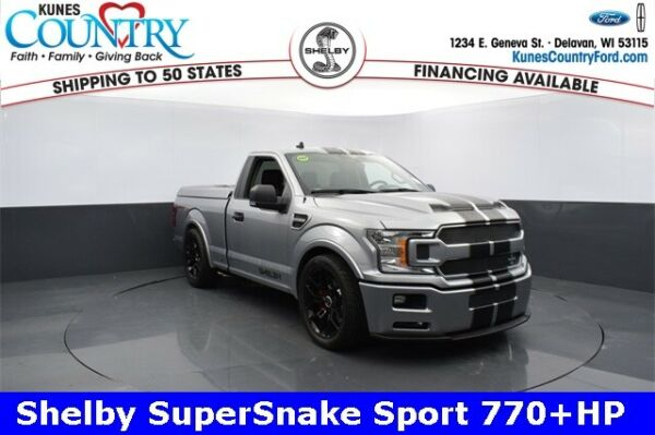 2020 Ford F-150 Shelby SuperSnake Sport 770+HP 2020 Ford F-150 Shelby SuperSnake Sport 770+HP  Silver 2D Standard Cab - Shippin