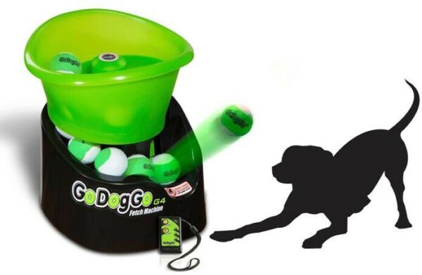 Go Dog Go G4 Ball Launcher Fetch Machine - Automatic - Dog Toy  $300.00