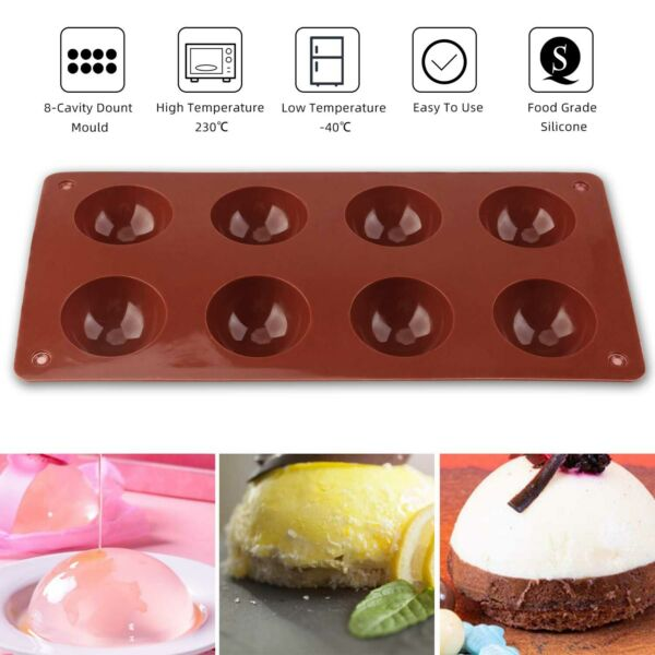 20Pcs Non Stick Cupcake Liners Silicone Cake Mold Baking Cup Muffin Pan Reusable