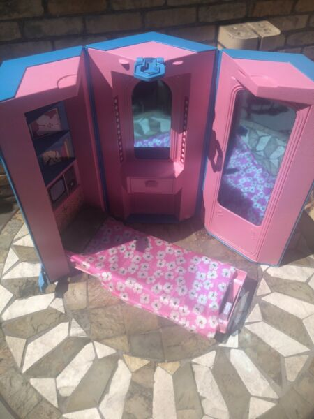 Vintage Barbie Fold and Go Day to Night Home - Office