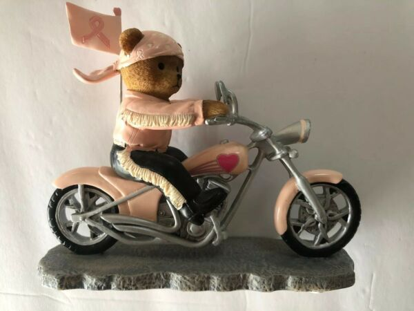 Faithful Fuzzies Headed for a Cure Pink Motorcycle On The Road For a Cure C9783 $20.00