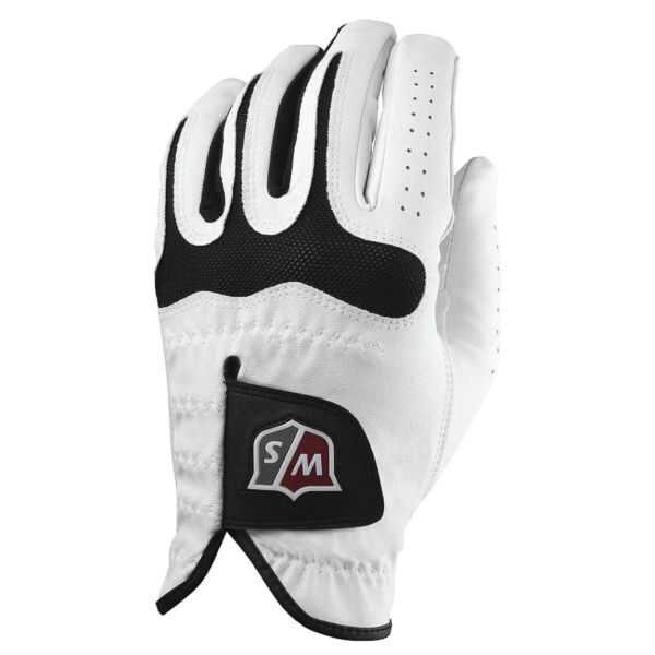 Wilson Staff Grip Soft White Golf Gloves 3 Pack Brand New