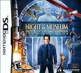 Night at Museum: Smithsonian NINTENDO DS Action Adventure Video Game