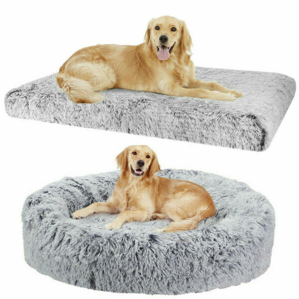 Orthopedic Large Dog Bed Pet Lounger Deluxe Cushion Crate Waterproof Sleep Bed $25.96