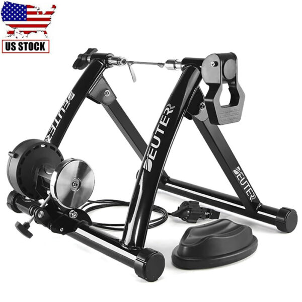 Indoor Bike Trainer Magnetic Exercise Stand Resistance Stationary for 26 28 inch $125.99