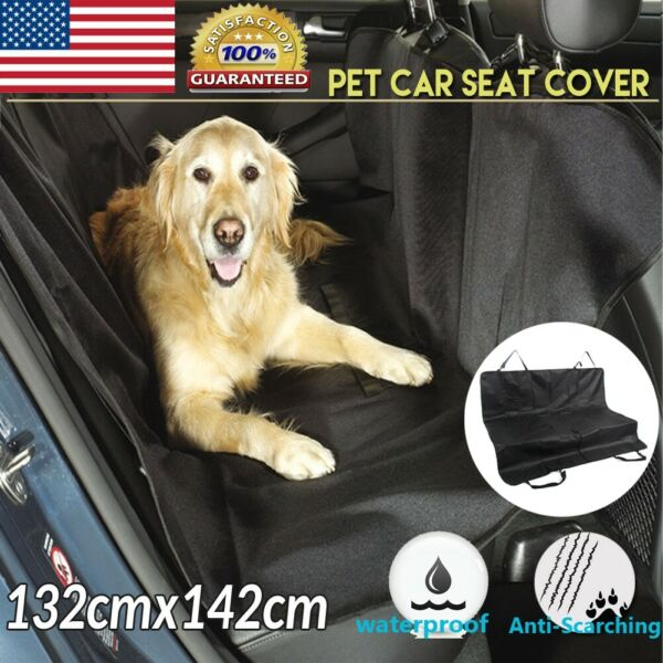 Dog Car Seat Cover Waterproof Hammock for Cat Pet SUV Van Back Rear Protect Pad $13.75