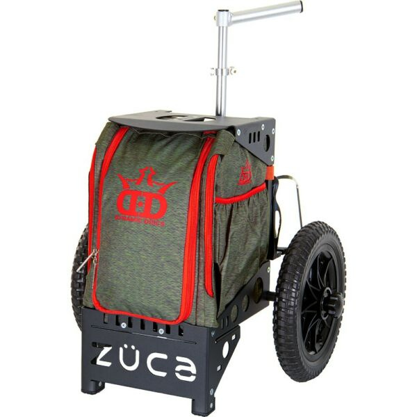NEW Disc Golf Compact Cart by Dynamic Discs ZUCA Navigator Olive