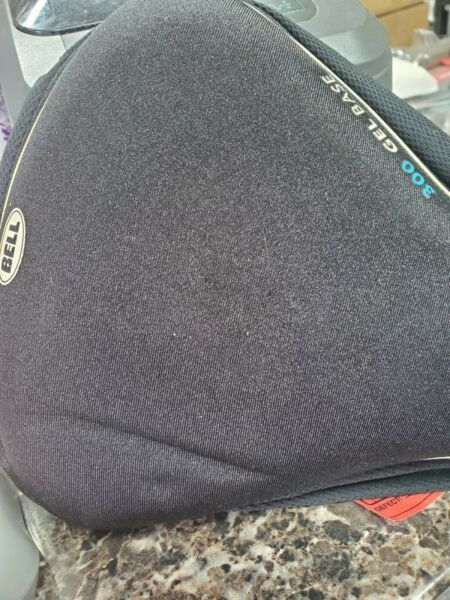 Bell 300 Gel base bike seat black cover NEW SMALL HOLE CAN#x27;T SEE F 49 $16.99