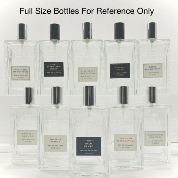 Cremo Cologne Glass Spray Samples NEW 2021 Releases Available You choose size $13.99