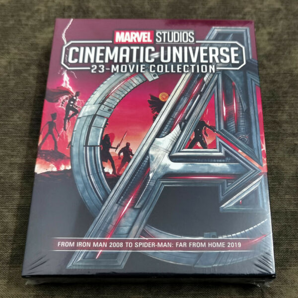ALL 23 MARVEL CINEMATIC UNIVERSE MOVIE COLLECTION 8 BLU RAY Ships 1st Class $85.88