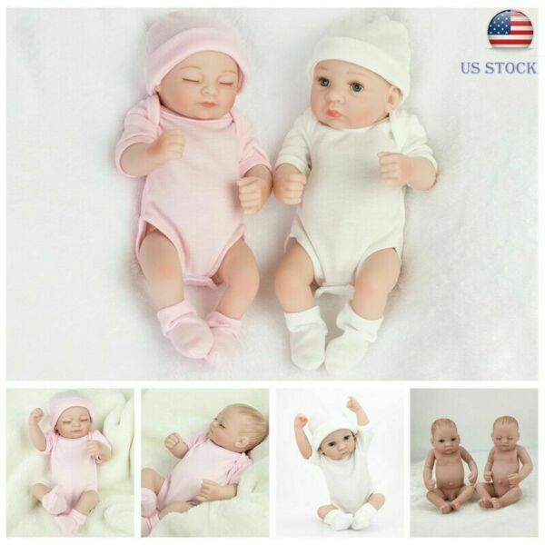 Realistic Reborn Baby Dolls Full Body Vinyl Silicone GirlBoy Newborn Doll Bath