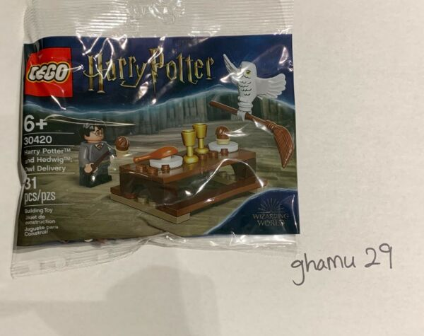LEGO 30420 Harry Potter and Hedwig Owl **FREE SHIPPING**