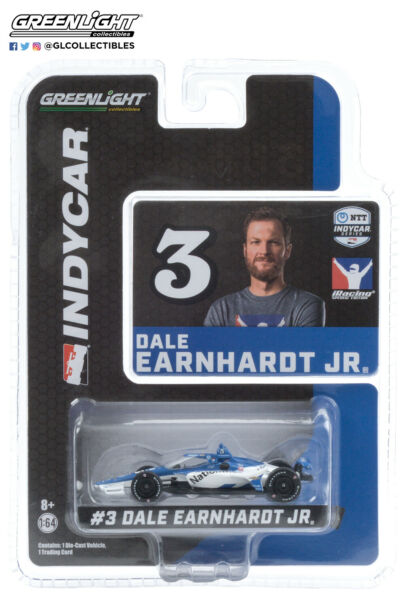 Greenlight 10883 2020 #3 Dale Earnhardt JR Motorsports Nationwide 1:64 Indy 500