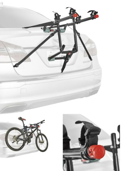 2 Bicycle Trunk Mounted Bike Rack Carrier Allen Sports Deluxe for Car SUV Van $51.67