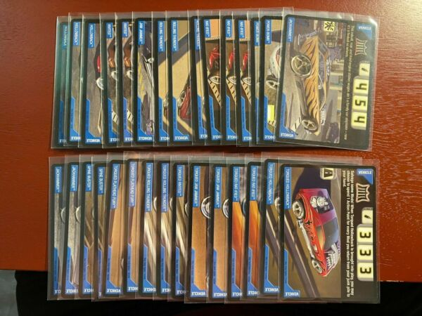 Build Your Own Lot of Acceleracers Cards All Cards Near Mint or Better $24.99