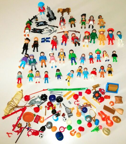 LARGE LOT Vintage Playmobil People amp; Accessories
