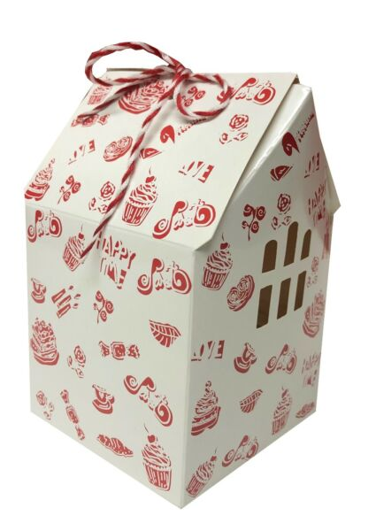 Cupcake Boxes Cupcake Boxes w Windows 2 Sizes Pack of 10 Small amp; 6 Large