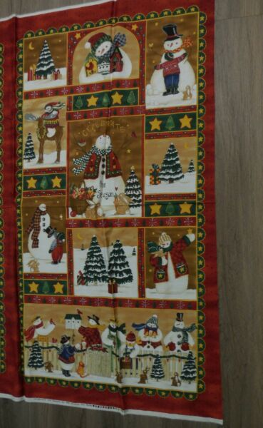 Celebrate the Season Deb Strain Moda Christmas Cotton quilt fabric craft panel