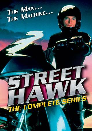 Street Hawk The Complete Series DVD 2010 4 Disc Set Brand New Sealed Rex Smith