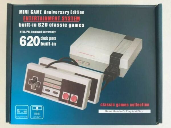 620 Built in Classic Nintendo Games Anniversary Edition Mini NES Game Console $21.49