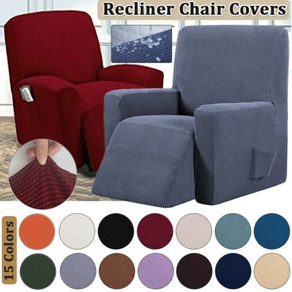 Slipcover Recliner Chair Covers Waterproof Sofa Chair Cover Couch Protector $30.98