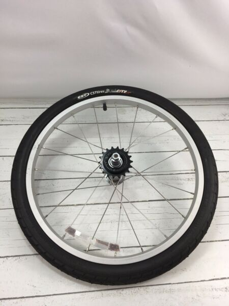 Burley Kazoo Trailercycle Tag Along Trailer Bike Tire Wheel $35.00