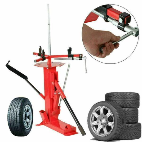 Portable Tire Changer 4quot; to 16 1 2quot; for Motorcycle Trailer Bike ATV Truck Red $139.87