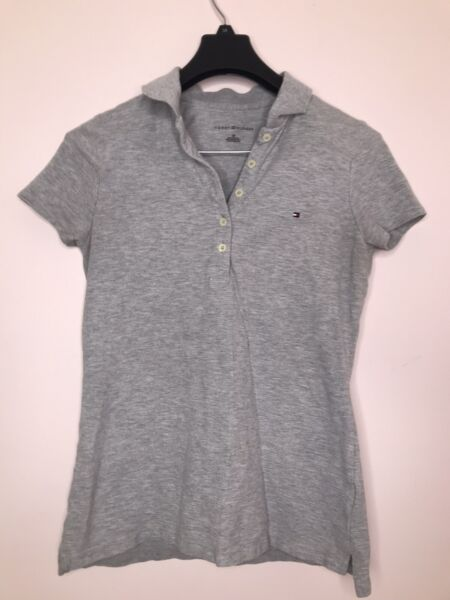 Tommy Hilfiger polo shirt women Size Small Color Grey $5.00