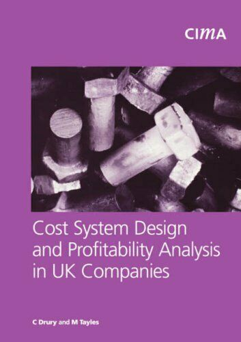 Cost System Design and Profitabillity Analysis in UK Compa... by Drury Paperback $21.12