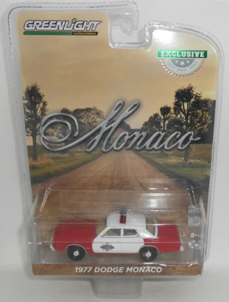 Greenlight 1977 Dodge Monaco Police Red White Hobby Exclusive New