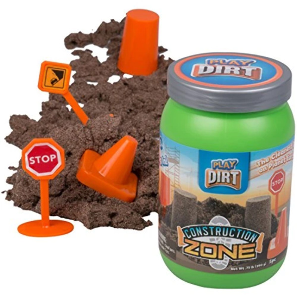 Construction Zone Dirt Unique Play Dirt for Burying and Digging Fun $7.20