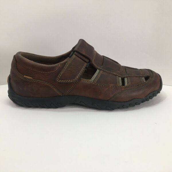 Timberland Sandals Brown Buckle Smart Comfort System Mens Size 9M. $26.99