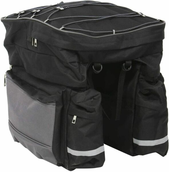 Bike Trunk Bag 68L Extensive Large Capacity Bicycle Rear Seat Pannier US SHIP $27.99
