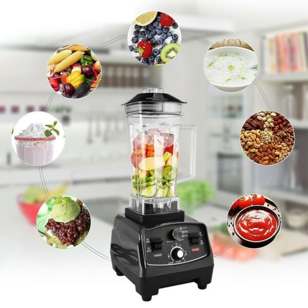 1000W High Speed Professional Countertop Blenders For Shakes And Smoothies