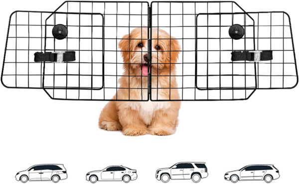 Dog Car Barriers Dog Barrier For SUV Vehicles Dividers Pet Barriers Heavy Duty W $46.45