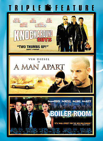 A Man Apart Boiler Room Knockaround Guys DVD 2006 $6.99