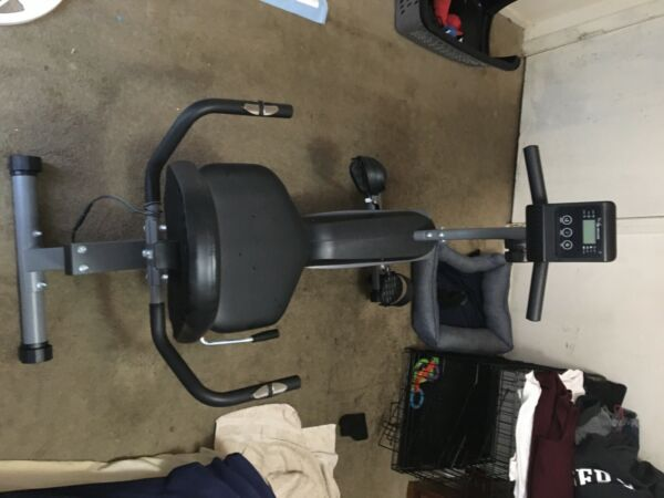 Maxkare Magnetic Recumbent Exercise Bike Indoor Stationary Bike Adjustable Seat $400.00