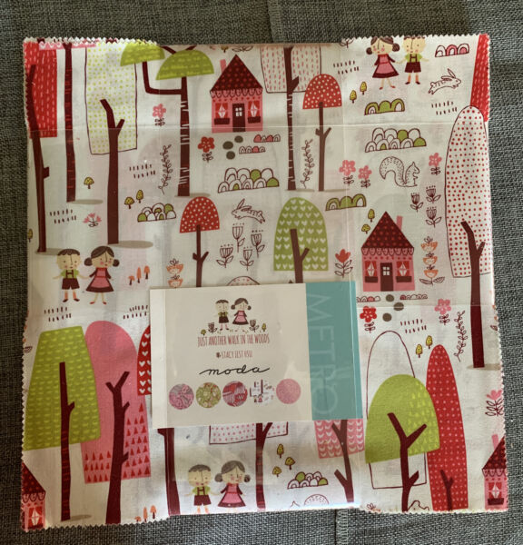 MODA Layer Cake Quilting Fabric Just Another Walk in the Woods Stacy Iest Hsu