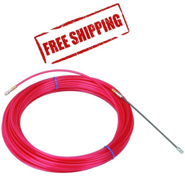 50 Ft. Nylon Fish Tape Electrical Conduit Cable Puller $19.75