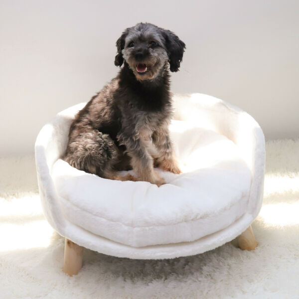 Pet Sofa Bed Dog Cat Kitty Puppy Couch Removable Soft Cushion Chair Seat Lounger $42.93