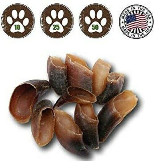 Top Dog Chews Hooves All Natural amp; Made in USA 10 Pack $13.95
