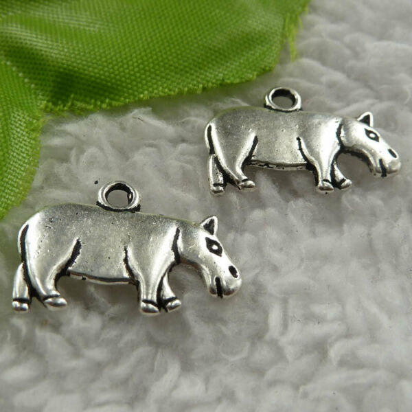 Free Ship 172 pieces tibet silver cattle charms 21x15mm B4090 $15.76