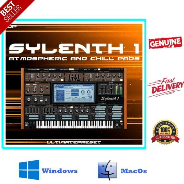 ‌SYLENTH1 V3 For Win amp; V2 For Mac VST Sound tools Full Version⚡️LifetimeBonus🎁 $7.89
